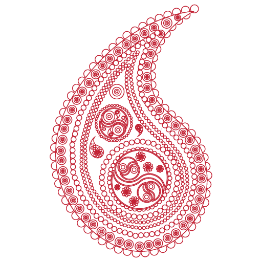 The swirling, teardrop shaped favicon of Botte Chai Bar.
